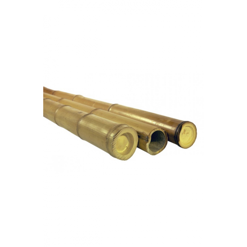 Natural Bamboo Pole 40 45mm 3m Bambuskeskus Ou