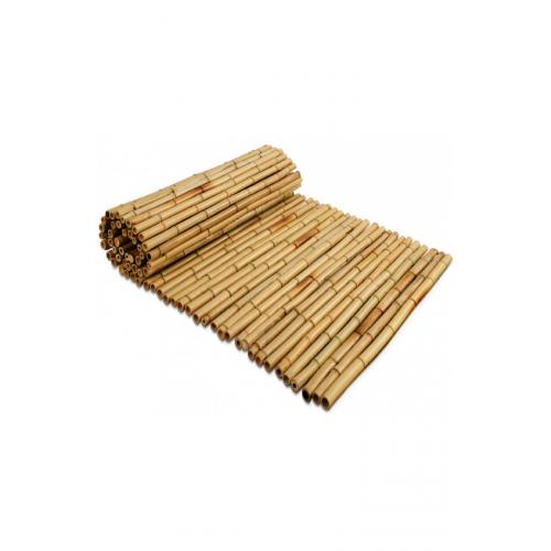 Kvaliteetne naturaalsest bambusest rull-aed 1x 2.5 m