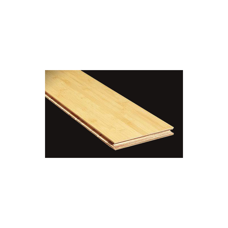 Bambusparkett Horizontal - Natural Light (hele)