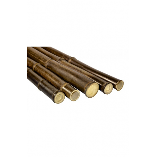 Natural black bamboo pole 20/25mm, 3m