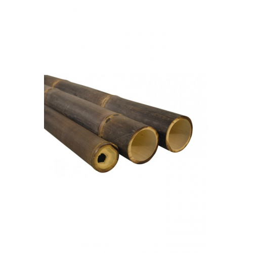 Natural black bamboo pole 60/80mm, 4m