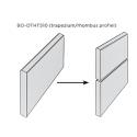 Bambusest fassaadiprofiil 18 mm (X-treme, trapezium)