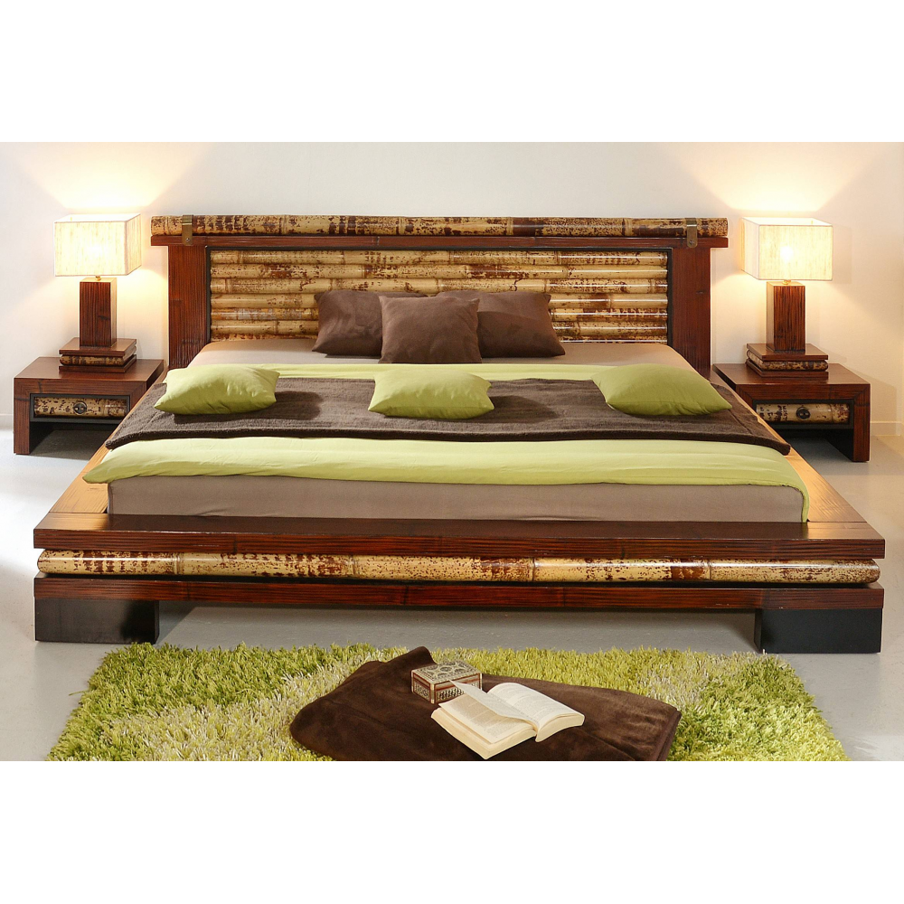Bamboo Bed Eco 160x200