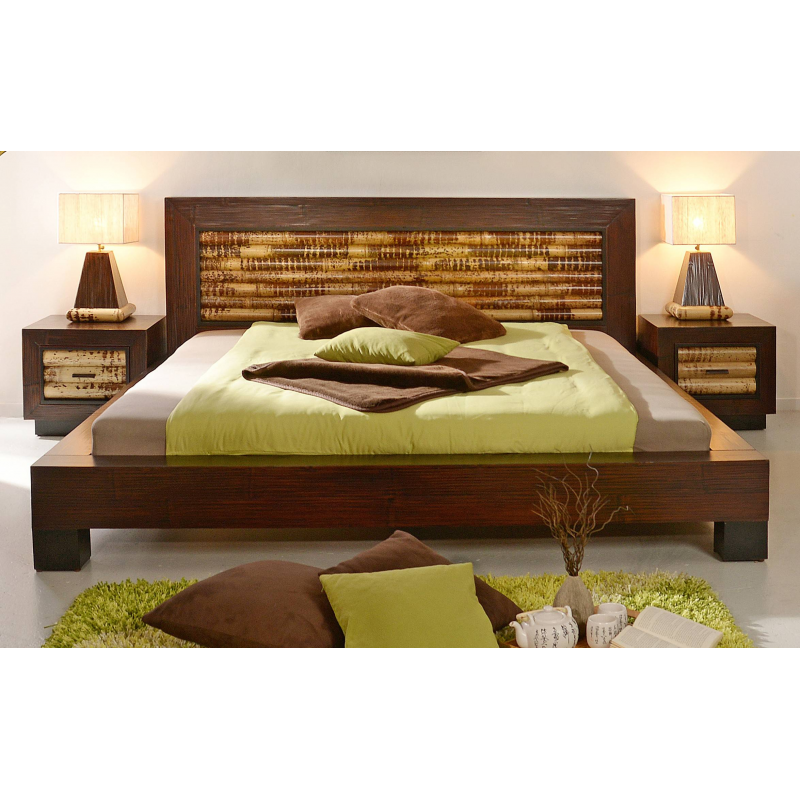 bamboo bed dream 180x200 bambuskeskus o. Black Bedroom Furniture Sets. Home Design Ideas