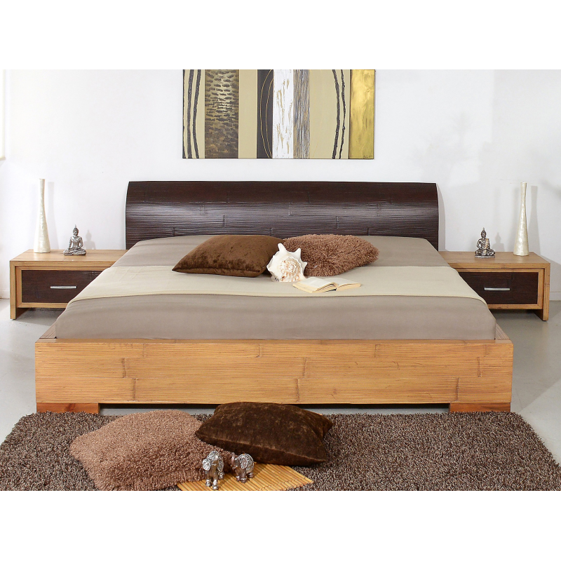 Bamboo bed Flores-2 160x200