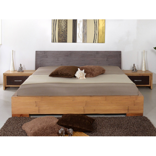 Bamboo bed Flores-1 180x200