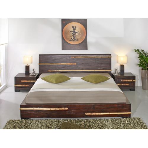 Bamboo bed Tikal 140x200