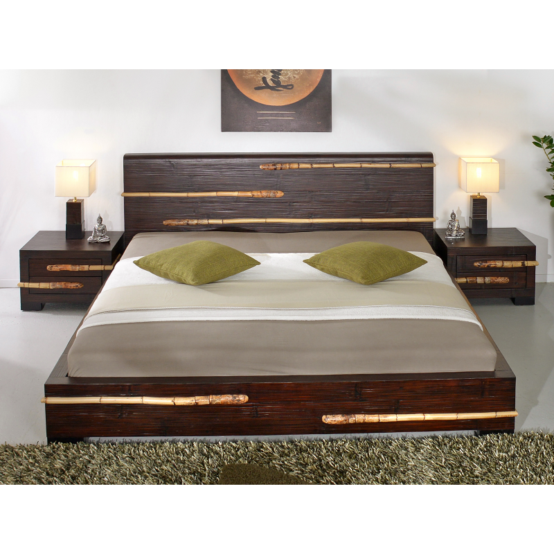 Bamboo Bed Tikal 180 X 200