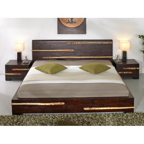 Bamboo bed Tikal 180x200