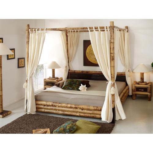 Bamboo bed Misool Canopy 180x200