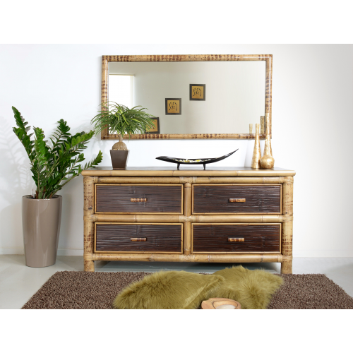 Commode Misool with 4 drawers