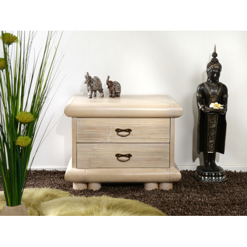 Bedside table Palawan with 2 drawers