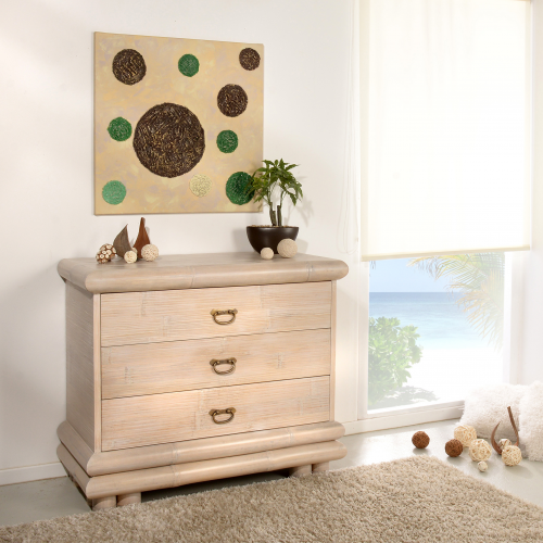 Commode Palawan with 3 drawers